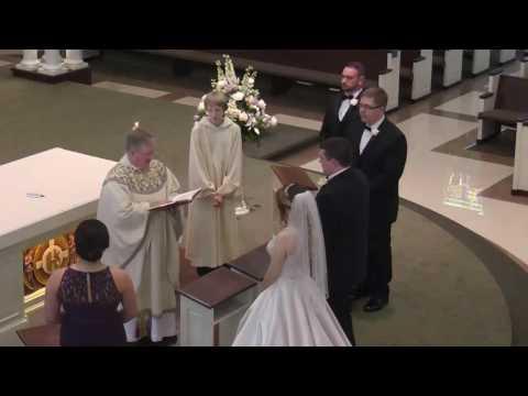 The Sacrament of Marriage ~ Anthony & Tatiana Burke