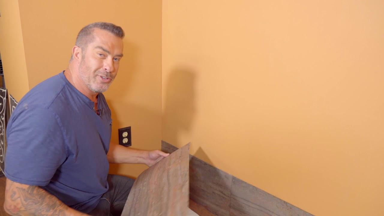 Aspect Stone Glue Up Installation