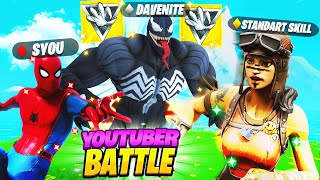 YouTuber Battle : Standart Skill vs Syou vs DaveNite in Fortnite!