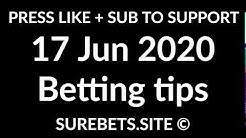 Football Betting Tips Today - 17 June 2020 - Premier League, Bundesliga, La Liga Predictions