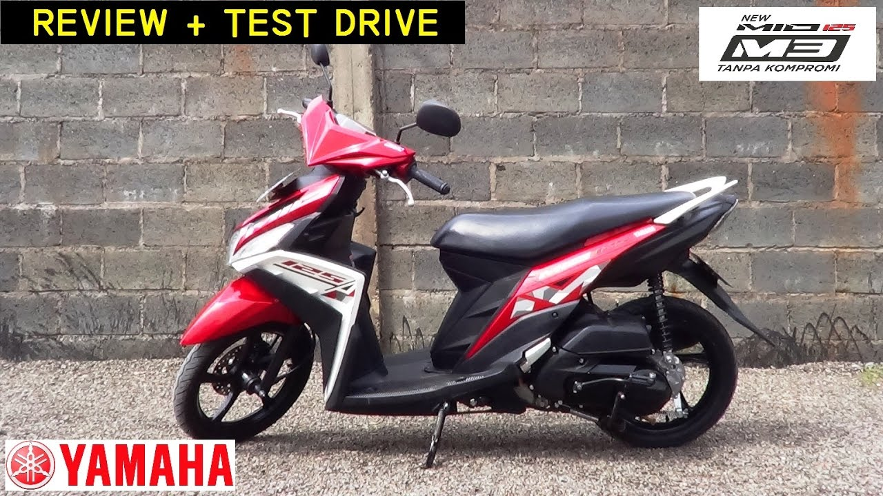 yamaha mio m3 125: review + test drive - youtube