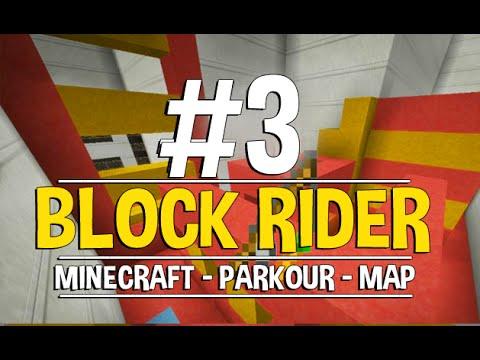 Minecraft: Block Rider Parkour - #3 - الاخيره