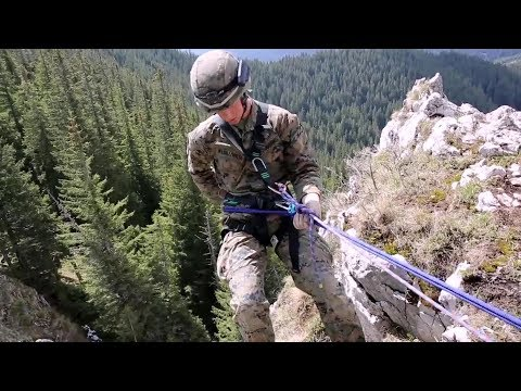 US BSRF Marines - Mountain Training with Romanian Soldiers