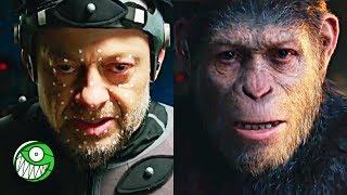 ANDY SERKIS: El actor detrás de CAESAR, GOLLUM Y SNOKE | El Planeta de los Simios: La Guerra