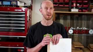 How To Build A Cordless Drill Storage Shelf