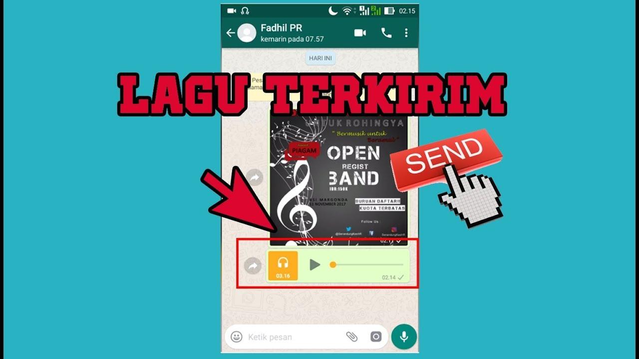 Cara Mengirim Lagu Musik Menggunakan Whatsapp Dengan Mudah