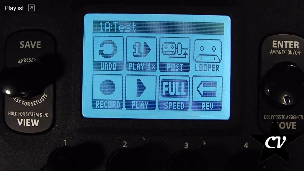 Line6 pod hd ita tutorial regolazione volume del looper youtube.