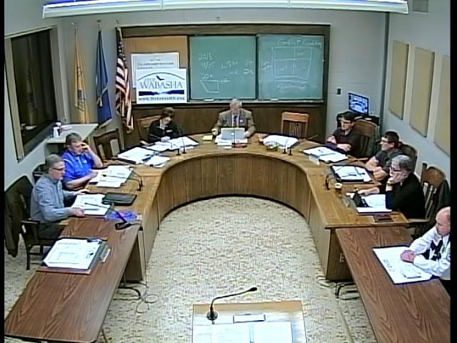 11 01 18 Wabasha City Council Meeting