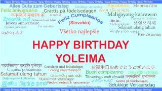 Yoleima   Languages Idiomas - Happy Birthday