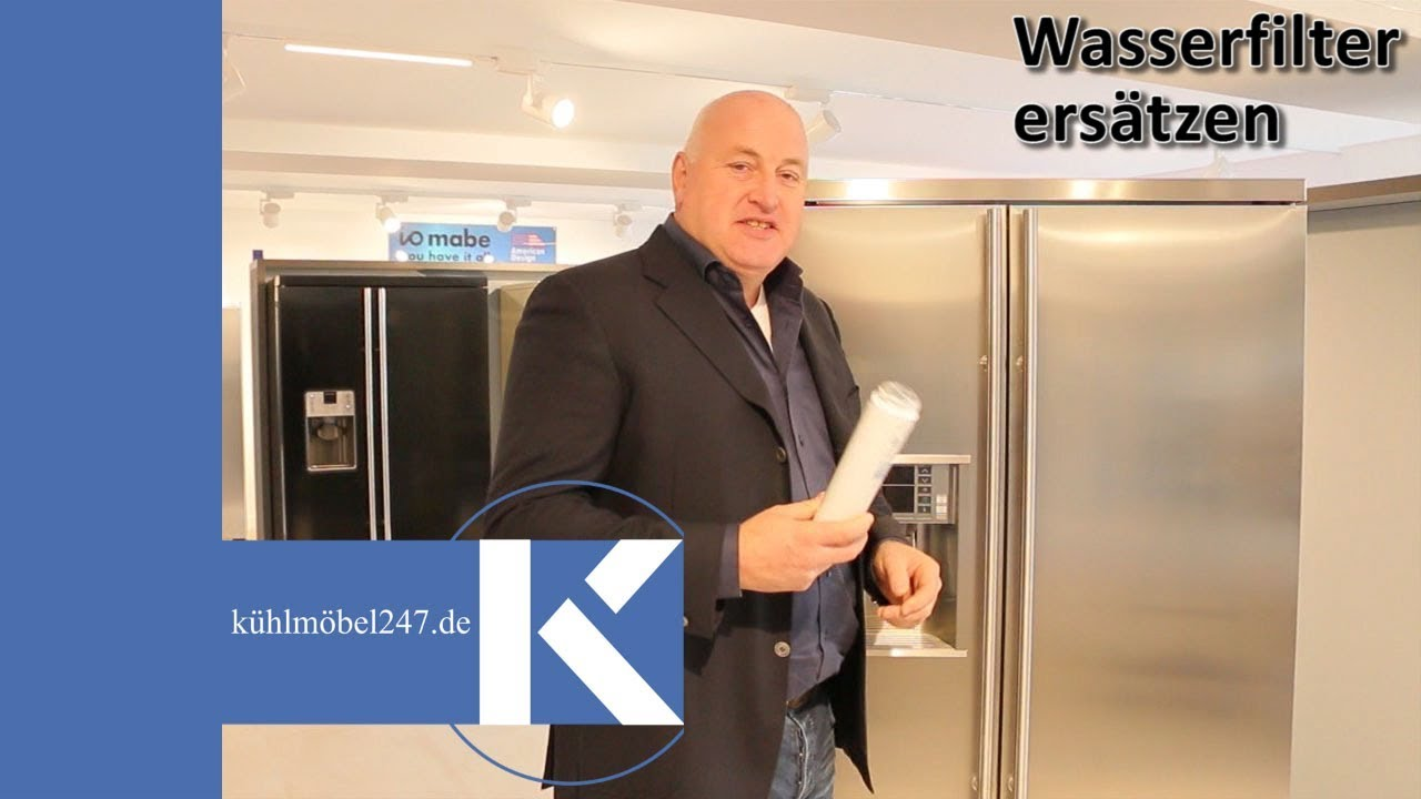 Aeg Kühlschrank Filter Wechseln : Side by side kühlschrank wasserfilter wechseln youtube
