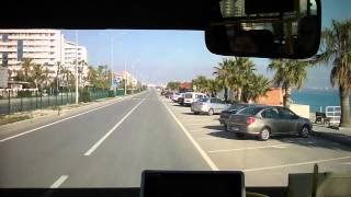 Im Kleinbus von Lara nach Antalya (Türkei) und ein wenig umherfahren