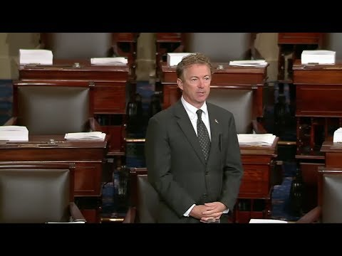 Sen. Rand Paul Calls on Congress to Do Its Job by Supporting His AUMF Amendment  - Sept. 13, 2017