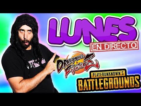 🔴ESTAMOS EN VIVO con PUBG y Dragon Ball Fighter Z | #LunesEnDirecto #JugandoConNatalia!