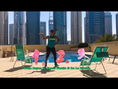 Zumba | 1, 2, 3 by Sofia Reyes ft. Jason Derulo & De La Ghetto | Dance Fitness | Masterjedai