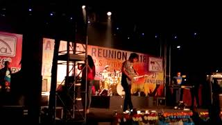 Somlata and The Aces rocking concert in 23rd Annual Reunion 2018 of Shibpur SSPS Vidyalaya Old Boys'