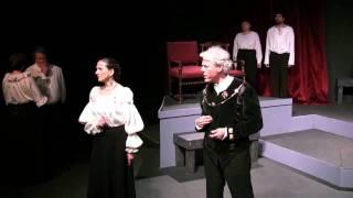 Hamlet court scene