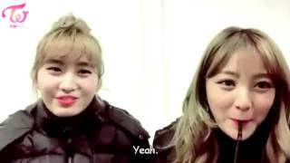 Jungyeon gets teased by the members   TWICE ENG SUB