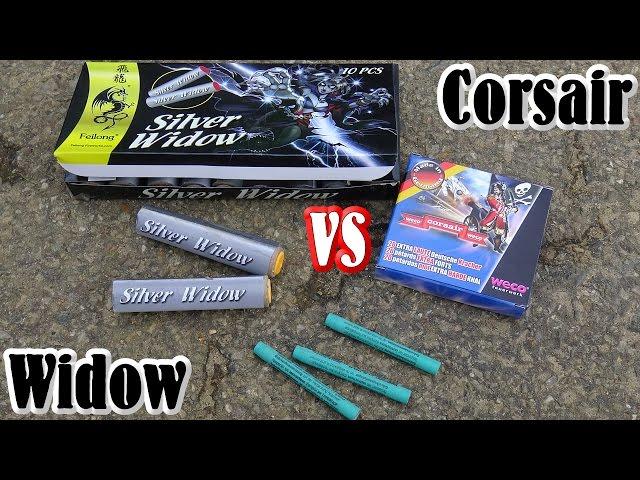 Weco Corsair 1309 vs Feilong Silver Widow [HQ]