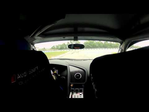 Audi R8 LMS Cup China Test