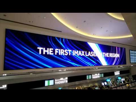 LED display project in Dubai---Uniview