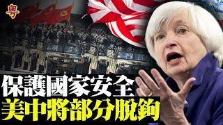 美國可能與中國脫鉤保安全  全球航空和銀行當機 美元飙升 黄金暴跌【粵覽新聞】