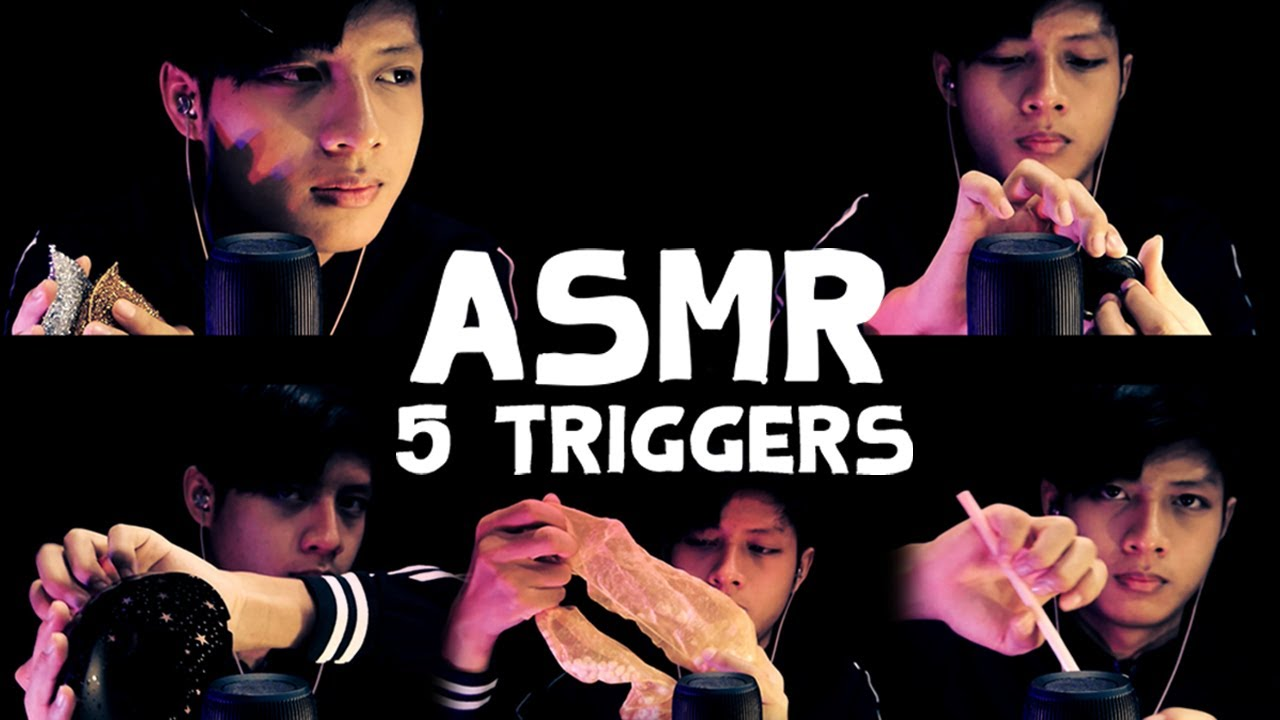 ASMR 5 Triggers | 5 เสียงจั๊กจี้ (ไทย,Binaural)