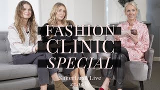 Fashion Clinic Special: Your Questions Answered