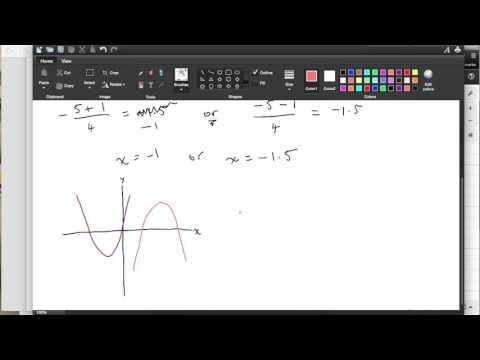 Using the Quadratic Formula - Year 11 Maths B