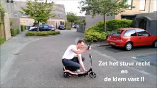 van spacescooter naar step