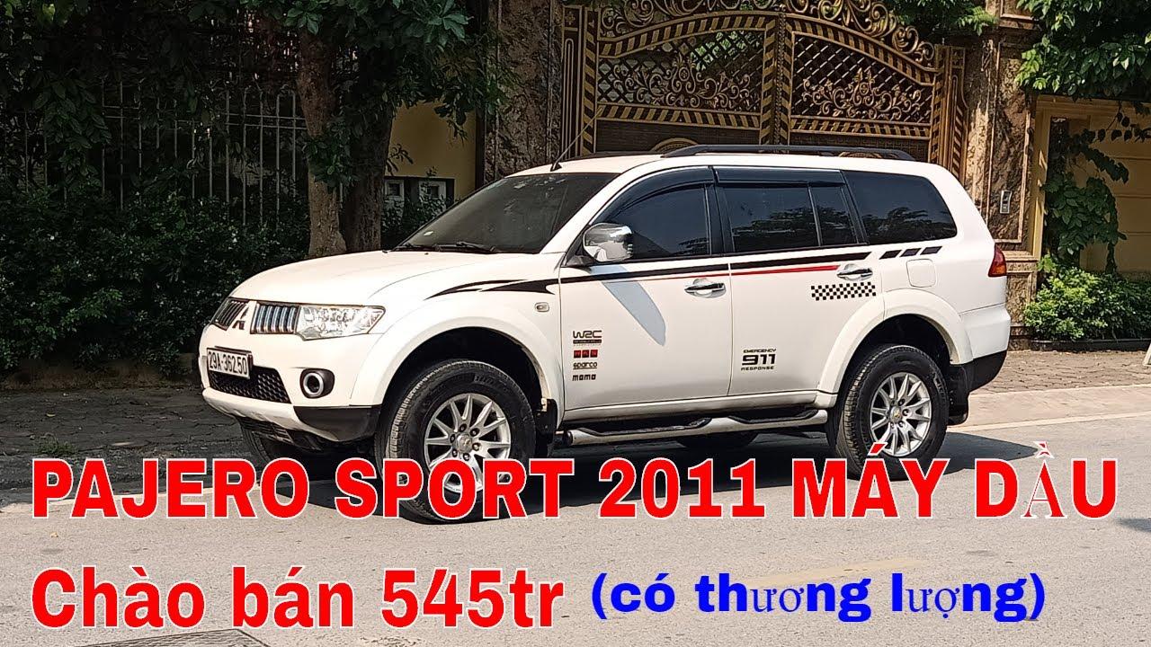 Bán Xe Pajero Sport cũ 2011 máy dầu số tự động. Xe 7 chỗ cũ giá rẻ.