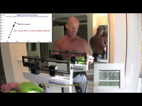 How To Weigh Yourself Accurately - part 1 of 2