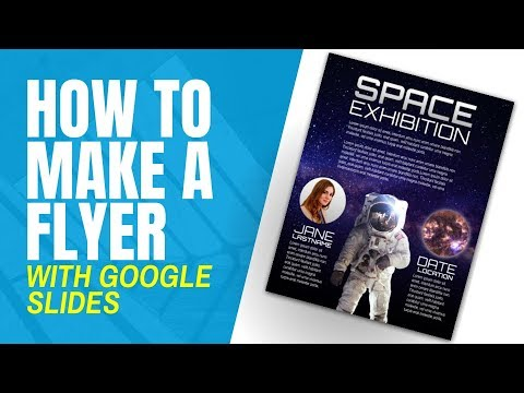 How to Create a Flyer from Scratch in Google Slides - YouTube