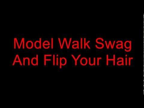 Young Ash - Model Walk Swag [Lyrics On Screen]