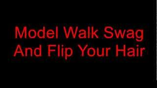 Young Ash - Model Walk Swag [Lyrics On Screen]