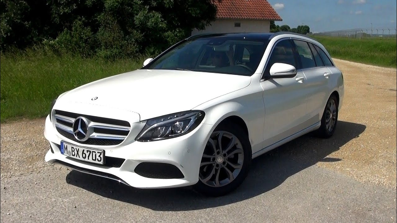2015 Mercedes C180 T-Model (156 HP) Test Drive