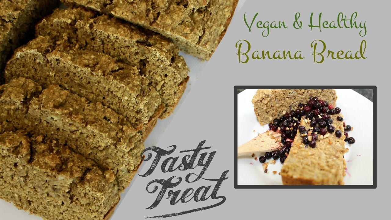 Banana bread recipe vegan healthy no oil or sugar youtube banana bread recipe vegan healthy no oil or sugar forumfinder