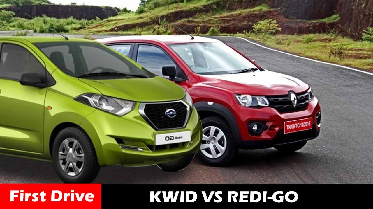 renault kwid vs nisan redi go compare and features first drive youtube. Black Bedroom Furniture Sets. Home Design Ideas