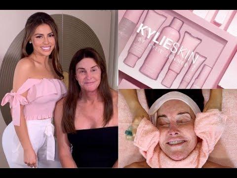 I Gave Caitlyn Jenner A Facial Using All Kylie Skin!? OMG   Jadeywadey180 thumbnail