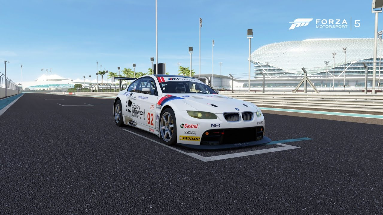 Forza Motorsport 5 - BMW #92 Rahal Letterman Racing M3 GT2 2009 ...