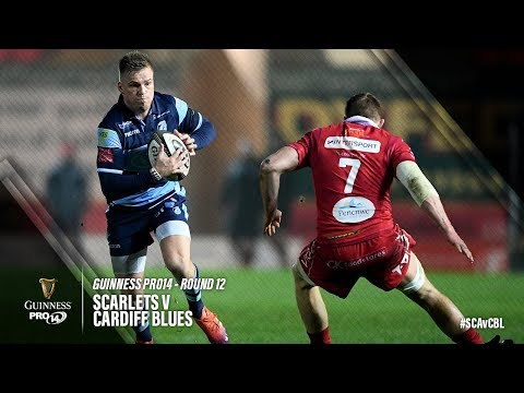 Guinness PRO14 Round 12 Highlights: Scarlets V Cardiff Blues