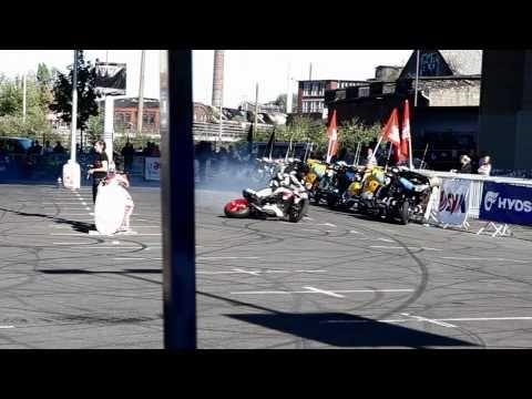 Kevin Carmichael Stunt-Show & Crash @ Intermot 2010