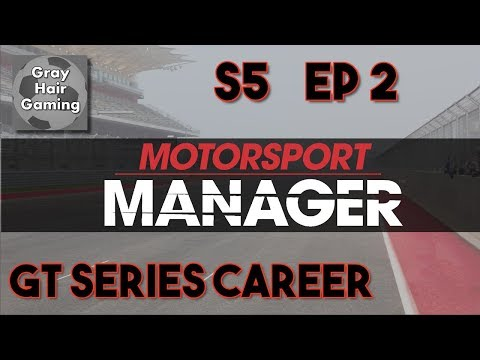 🏁 We Qualified Surprisingly Well at Cape Town - S5 EP2- Motorsport Manager GT Challenger Let's Play