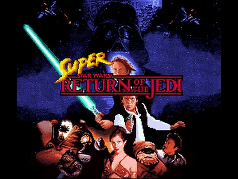 SNES Longplay [153] Super Star Wars: Return of the Jedi