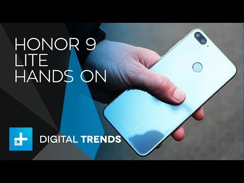 Honor 9 Lite Smartphone - Hands On Review