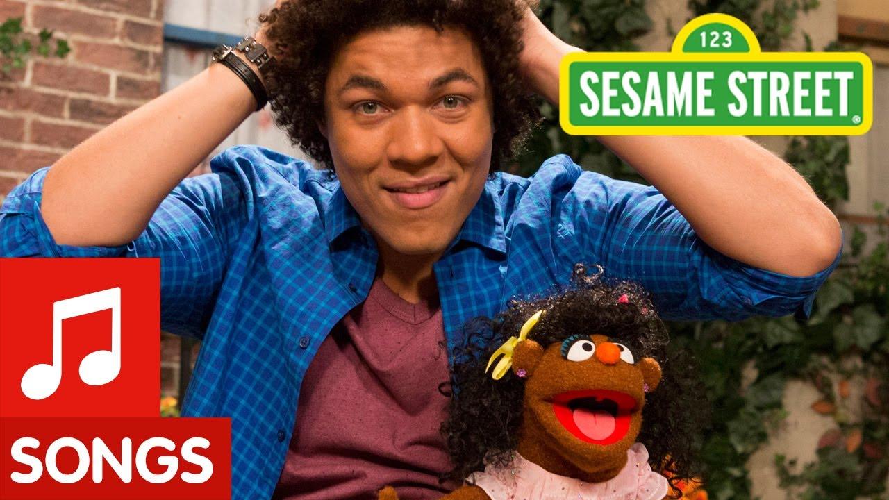 Sesame Street: I Love My Hair Song (Mando's Spanish ...