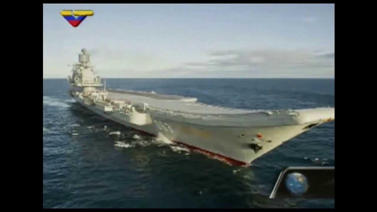 Resultado de imagen para portaaviones hacia venezuela