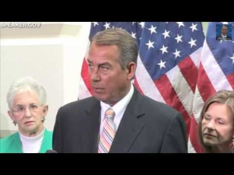 Boehner: 'If We Don't Secure The Border Nothing's Going To Change'