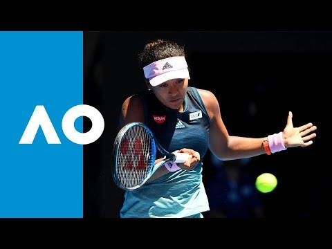 Naomi Osaka v Anastasija Sevastova second set highlights (4R) | Australian Open 2019