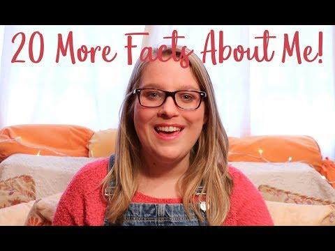 20 More Facts About Me! | Sarah Douglas