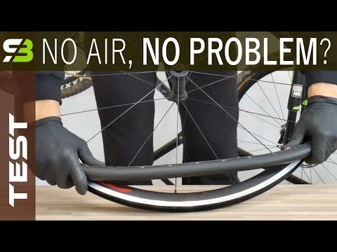 Forget About Flats Tannus Airless Tires Test Part 1 Weight Assembly etc